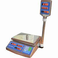 Весы  торговые электронные  ВТД-ЕЛ (F902H-30EDS)(30кг.)