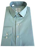 Рубашка мужская приталенная №10-12к. - DACRON 2133