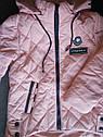 Модная демисезонная куртка на девочку Аля Размеры 140, 146, фото 4