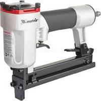 Степлер пневматический для прямоугольных скоб от 10 до 22 мм MATRIX 57420