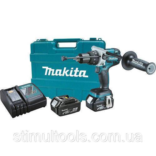 Аккумуляторный шуруповерт Makita DDF481RME