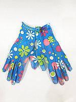 """Рабочие перчатки стрейч """"Цветок"""""""