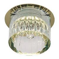 Точечный , встраиваемый светильник  Feron JD -160 (золото)