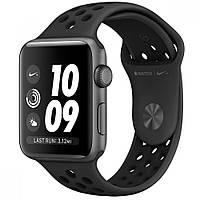 Ремешок для Apple Watch  Sport Nike 38mm Black (черный)