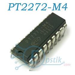 PT2272-M4, беспроводной декодер, DIP18