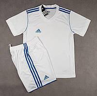 Футбольная форма для команд Adidas Адидас белая