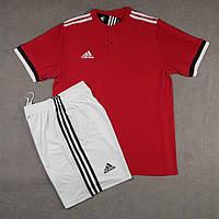 Футбольная форма для команд Adidas Адидас красный