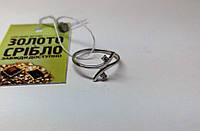Золотое кольцо с бриллиантами. Размер 16,5. Б/У.