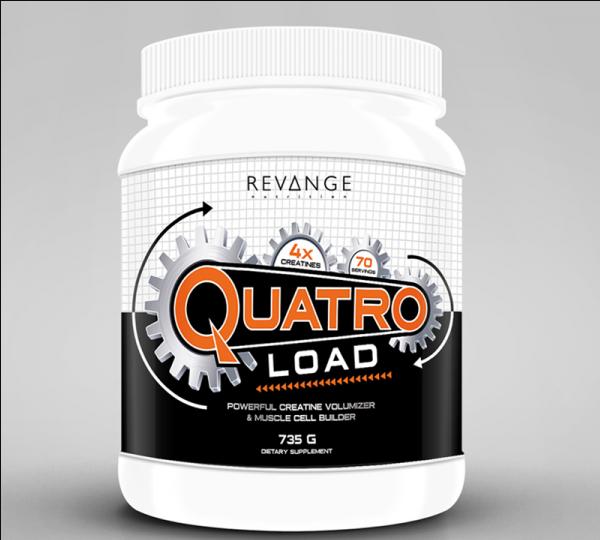 Revange Nutrition Quatro Load 735g