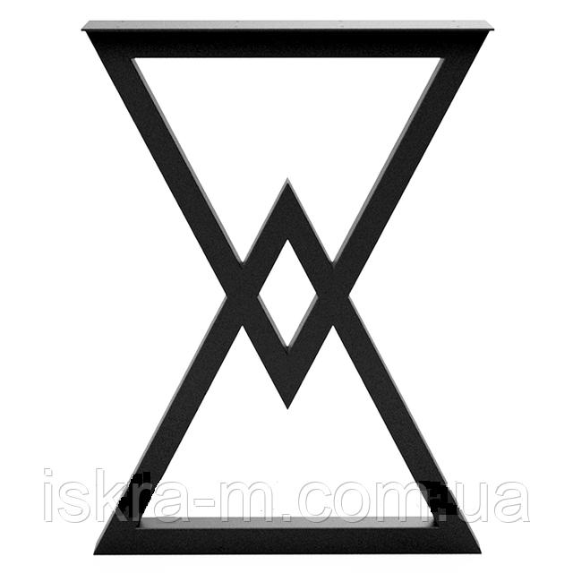 Ножка для стола из металла в стиле мебель лофт