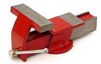 Тиски стальные слесарные с наковальней CONDOR 200 мм