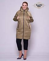 Женская демисезонная куртка оливка