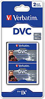 Видеокассета Verbatim MiniDV 2PK BLISTER 60MIN