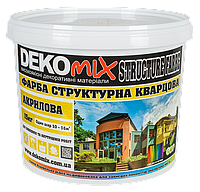 Struktur Farbe ДекоMIX 15 кг Фарба структурна кварцова