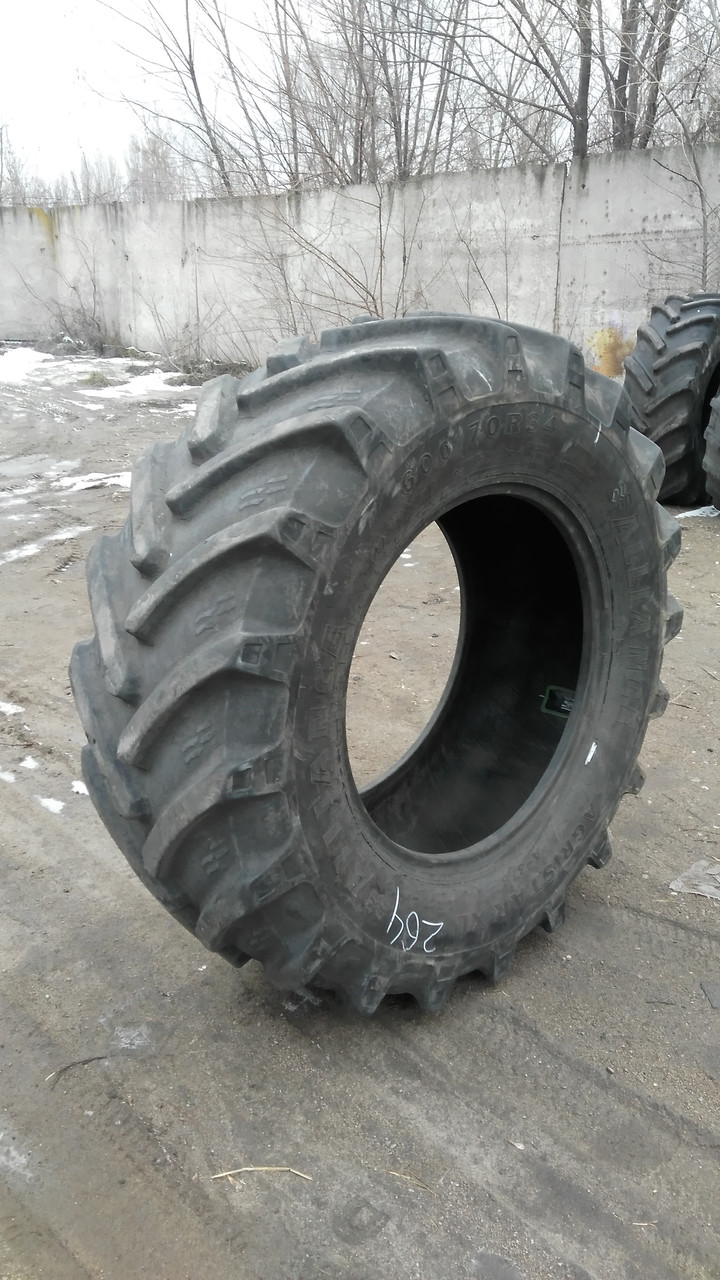 Шини б/у 600/70R34 Alliance для тракторів CASE IH, NEW HOLLAND, FENDT