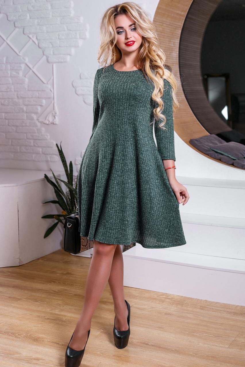 052a48f0718 Женское трикотажное повседневное платье