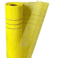 Сетка фасадная Fiberglass 145г/м² стекловолоконная щелочестойкая (50м)