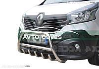 Дуга переднего бампера Renault Trafic III 2015-...