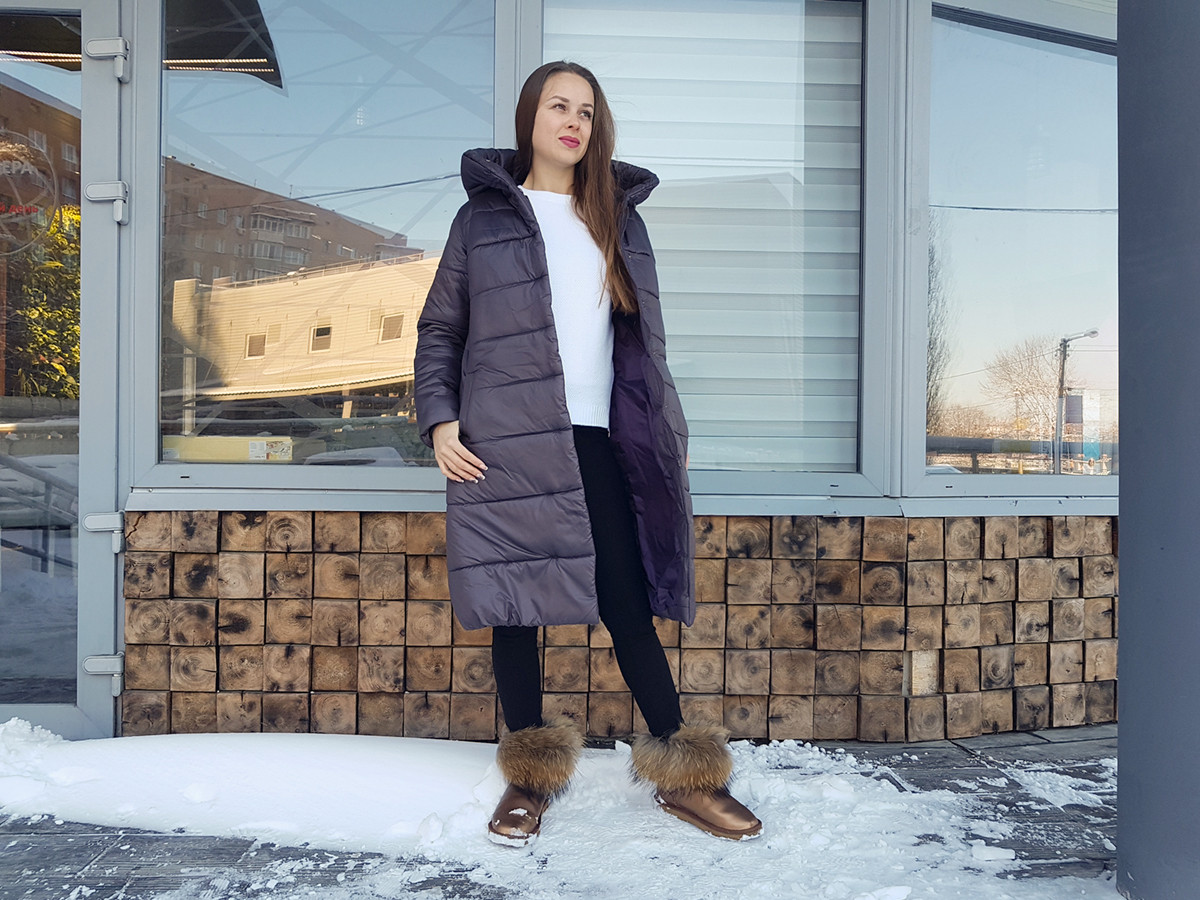 Женская зимняя удлиненная куртка Адель шоколад  продажа, цена в ... 241005fe1f1