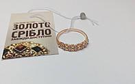 Кольцо, золото 585 проба. Размер 16,5. Вес 1,67 грамм.
