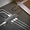 USB-хаб Promate PrimeHub-C Grey, фото 7