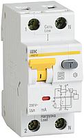 Дифференциальный автоматический выключатель АВДТ 32 C6 30мА IEK