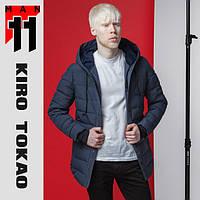 11 Kiro Tokao | Японская куртка весна-осень стильная 4864 синий
