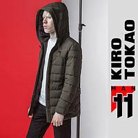 11 Киро Токао | Куртка японская модная весна-осень 4864 т-зеленый