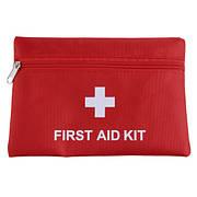 Аптечка 13.5x19.5см красная First aid kit