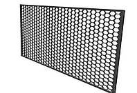 Сетка декоративная пластиковая чёрная 20ммХ15мм,