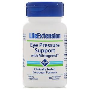 Life Extension, Eye Pressure Support с миртогенолом, 30 вегетарианских капсул