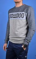 Свитшот мужской Red and Dog GryBlk серый