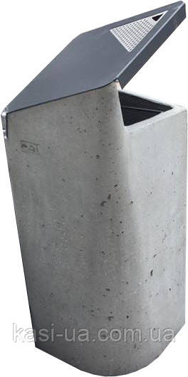 Уличная урна для мусора бетонная URBAN1