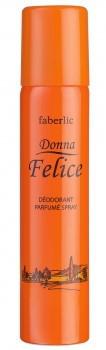 Парфюмированный дезодорант спрей для тела Donna Felice, Faberlic, Донна Феличе, Фаберлик, 3511, 75 мл