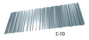 Профнастил оцинкованный С-10 стеновой 0.5 мм, фото 2