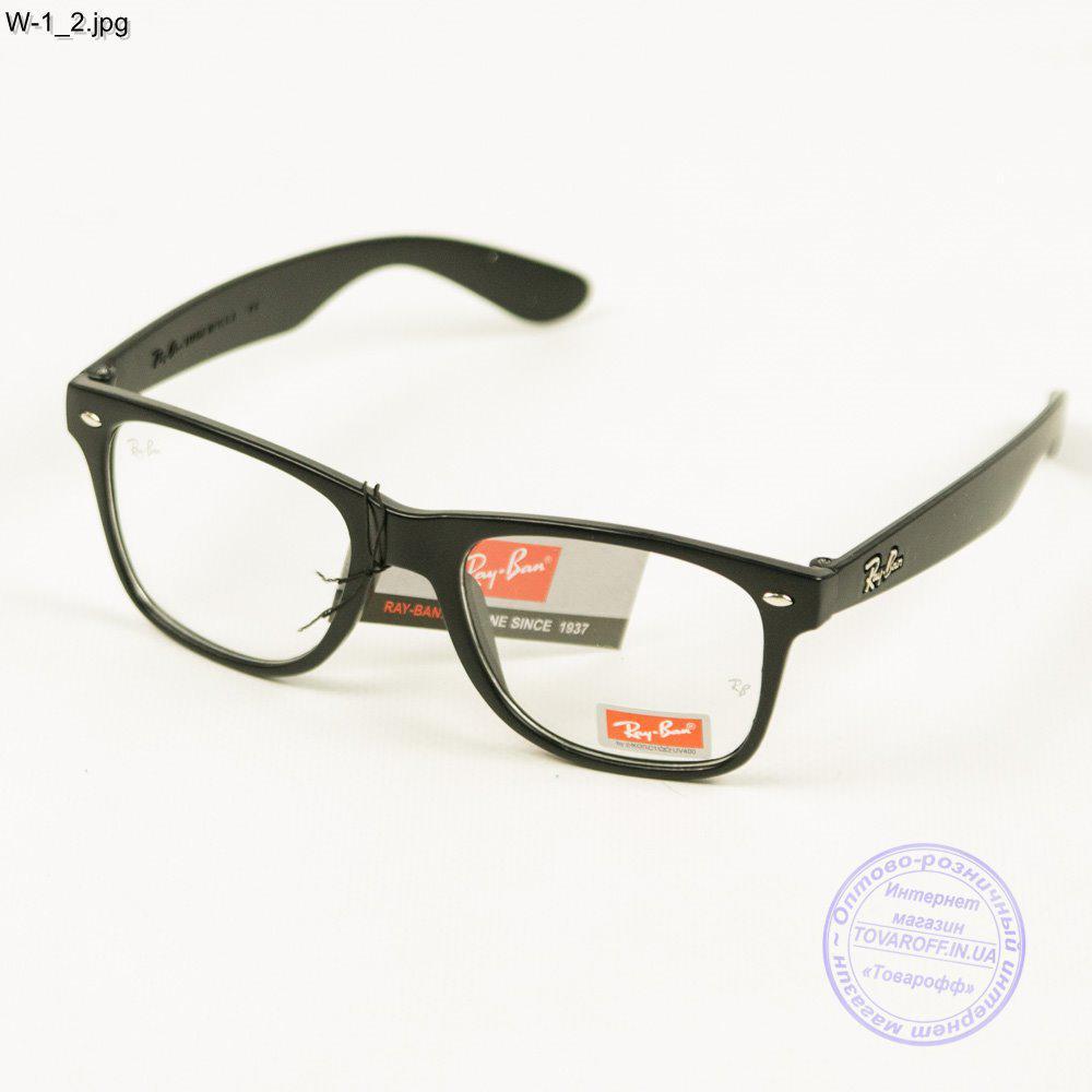 Имиджевые очки Ray-Ban Wayfarer унисекс - W1 1 - купить по лучшей ... 65d45db14dfeb