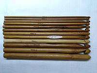 Набор деревянных крючков для вязания 3.0-10.0 мм