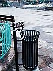 Уличная урна для мусора металлическая №4, фото 3