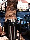 Уличная урна для мусора металлическая №4, фото 4