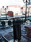 Уличная урна для мусора металлическая №4, фото 5