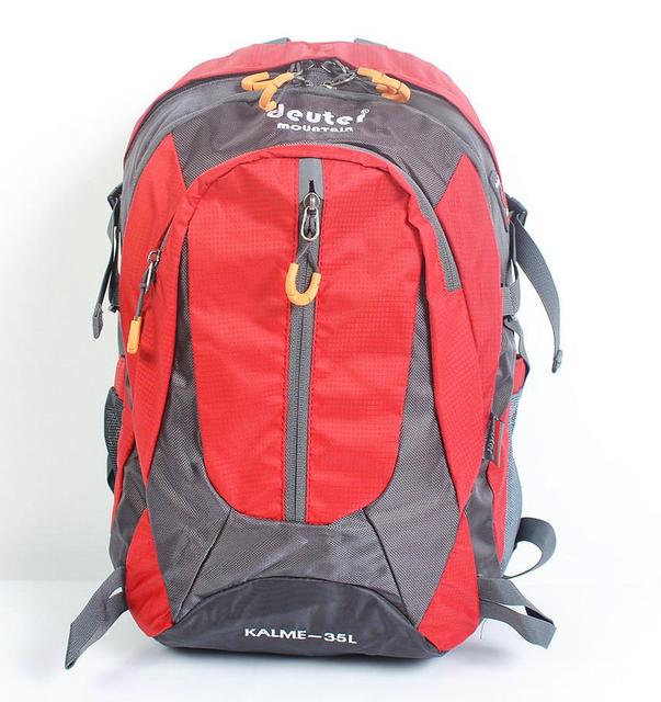 Городской спортивный рюкзак в стиле Deuter Mountain G25 красный  (46х27х18 см. V-35л.)