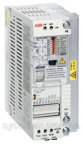 Преобразователь частоты ABB ACS55-01E-04A3-2 (0,75 кВт, 220 В), фото 2