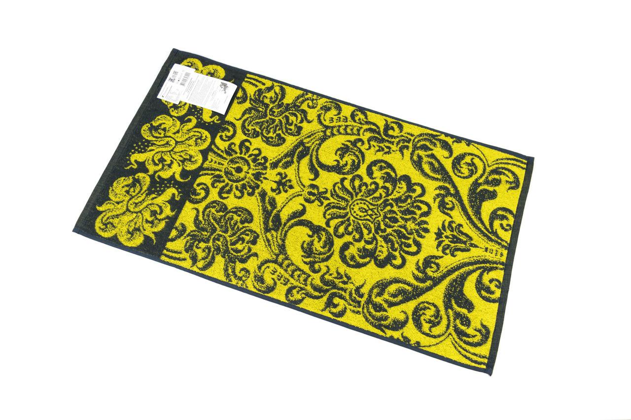 Полотенце махровое 67*150 ПЕТЕРГОФ желтый