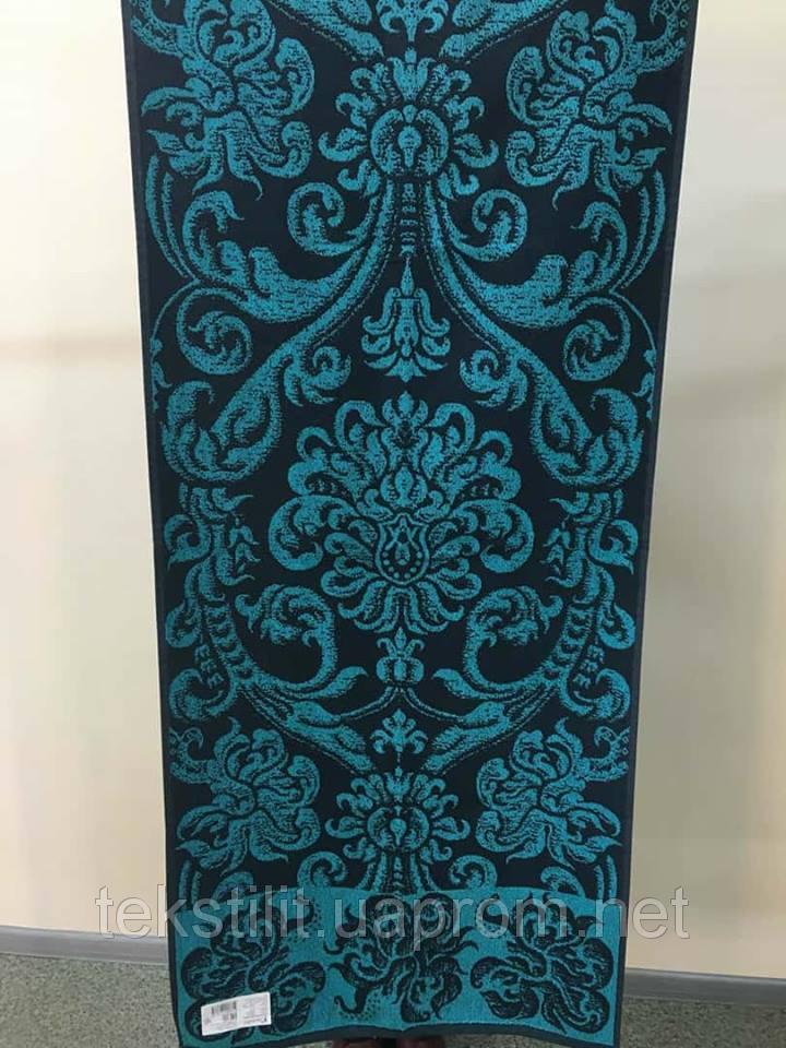 Полотенце махровое 67*150 ПЕТЕРГОФ синий