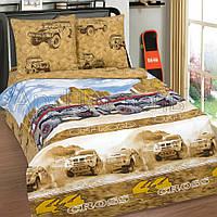 Полуторное постельное белье, Каньон, поплин 100%хлопок
