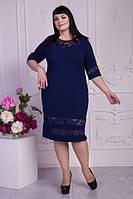 Красивое повседневное платье больших размеров