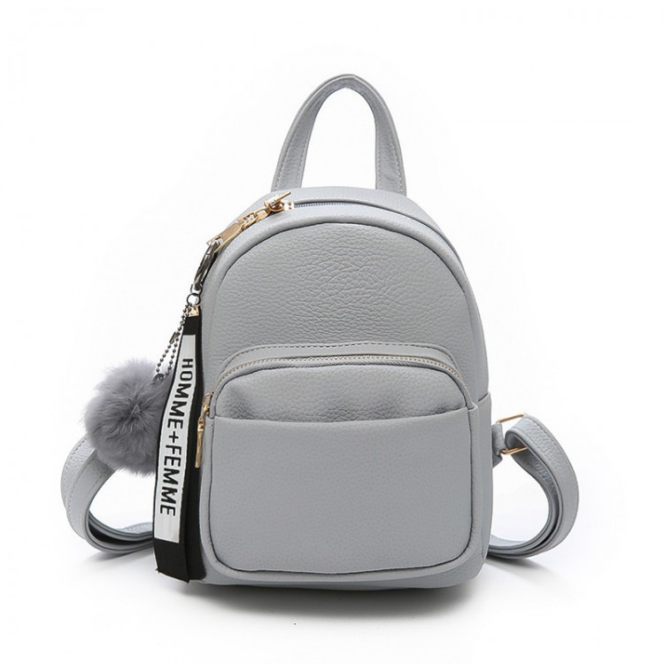 Рюкзак женский Bobby серый eps-8007