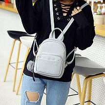Рюкзак женский Bobby серый eps-8007, фото 3