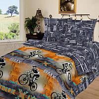 Полуторное постельное белье, Рекорд, поплин 100%хлопок