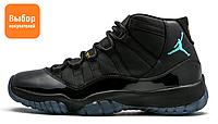 Мужские кроссовки Nike Air Jordan 11 Gamma Black Retro 2013